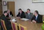 Rajono vadovų susitikimas su Panevėžio kolegijos atstovais