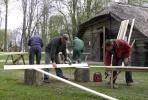 """""""Medžio amatų dirbtuvė: įrengimas ir darbas"""""""