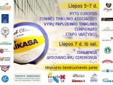 Rytų Europos zoninės tinklinio asociacijos (EEVZA) vyrų paplūdimio tinklinio čempionato etapas